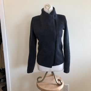 Vince Double-knit Wool Sweater